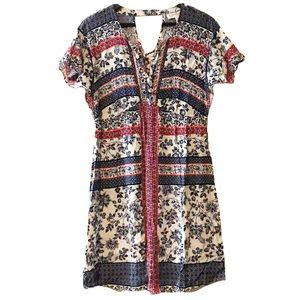 Jessica Simpson Maternity Floral Dress